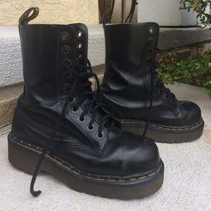 Vintage Platform Dr. Martens Boots
